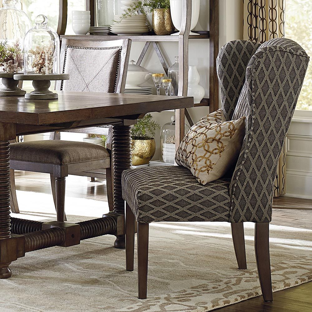 Alden Dining Chair By Bassett Furniture Is Available With A Tufted Or  Standard Back.