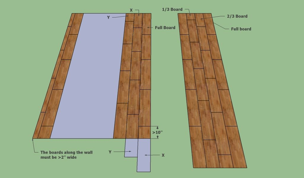 How to lay laminate flooring on concrete  Home UpDos
