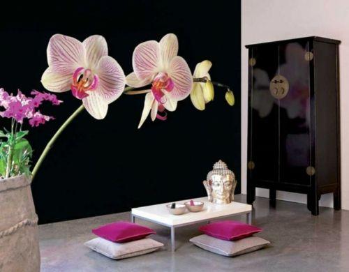 Delightful fresh floral designs buddha style Thai deko - wohnzimmer ideen buddha