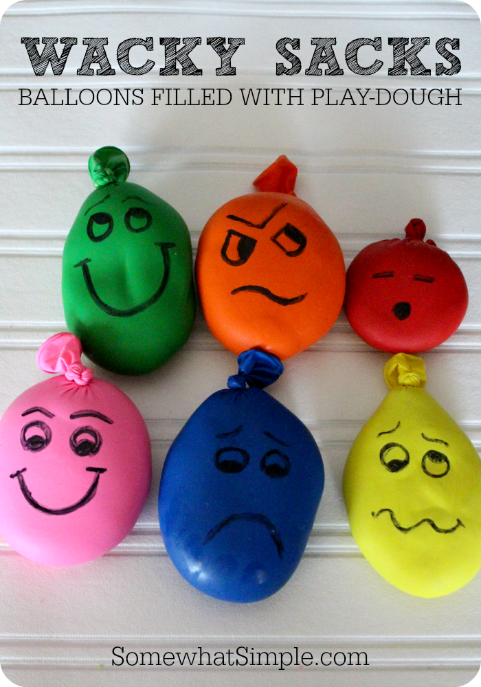 wacky sacks make your own stress ball luftballons. Black Bedroom Furniture Sets. Home Design Ideas