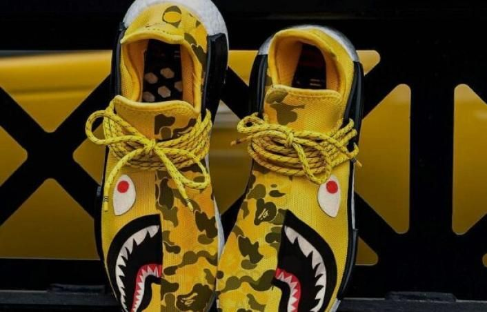 17cf7753dc5ff Article Image  A BAPE x Pharrell x adidas NMD  Human Race  Is A Match Made  In Heaven