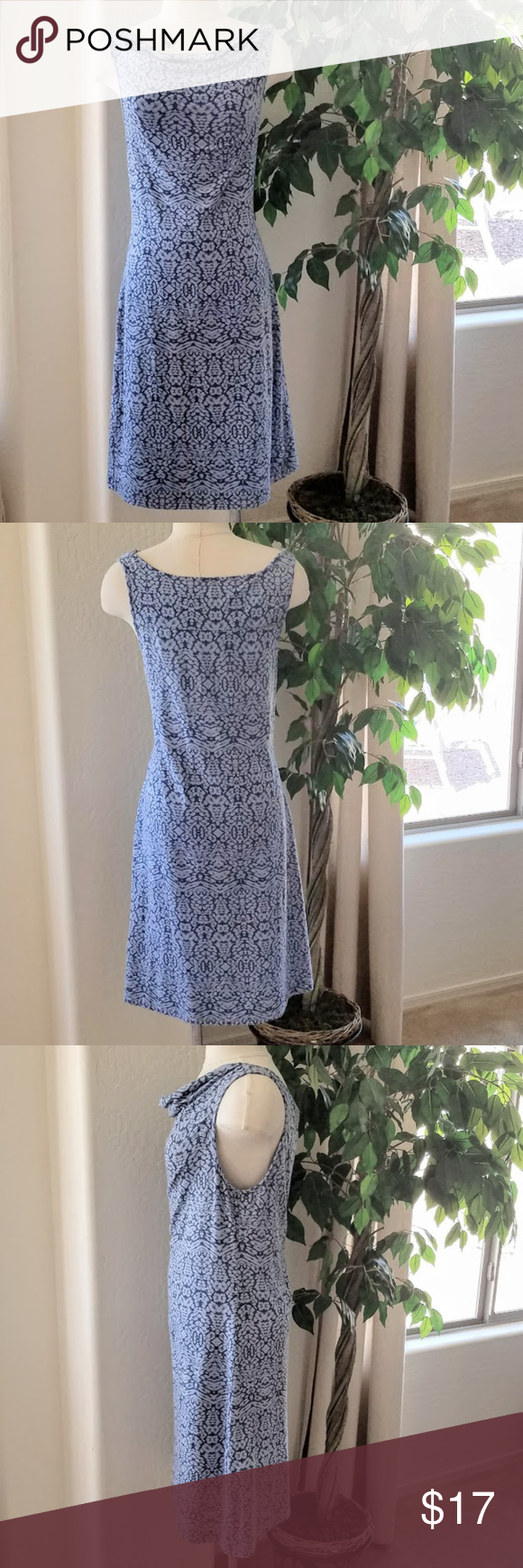 Edddie Bauer Super Comfy Stretchy Summer Dress Summer Dresses Form Fitting Dress Clothes Design [ 1740 x 580 Pixel ]