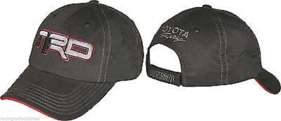 Toyota TRD Racing new black with red and silver trim ball cap  Toyota TRD  Racing new black with red and silver trim ball cap. Just a few left. 2a4a6b1d7f84