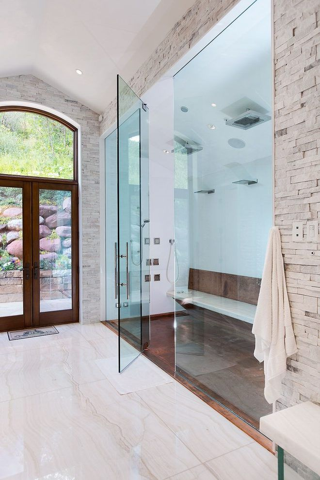 Massage Jets Contemporary Bathroom Decorating Ideas with ...