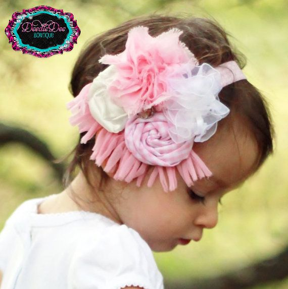 Handmade fabric headband  www.facebook.com/deedledeebowtique
