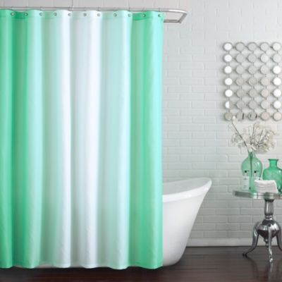 Blaire Shower Curtain in Aruba - BedBathandBeyond.ca