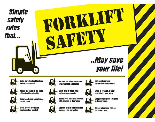 forklift safety   google search safety posters pinterest