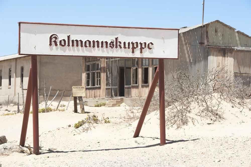 Kolmannskuppe diamond ghost town near Luderitz, Namibia