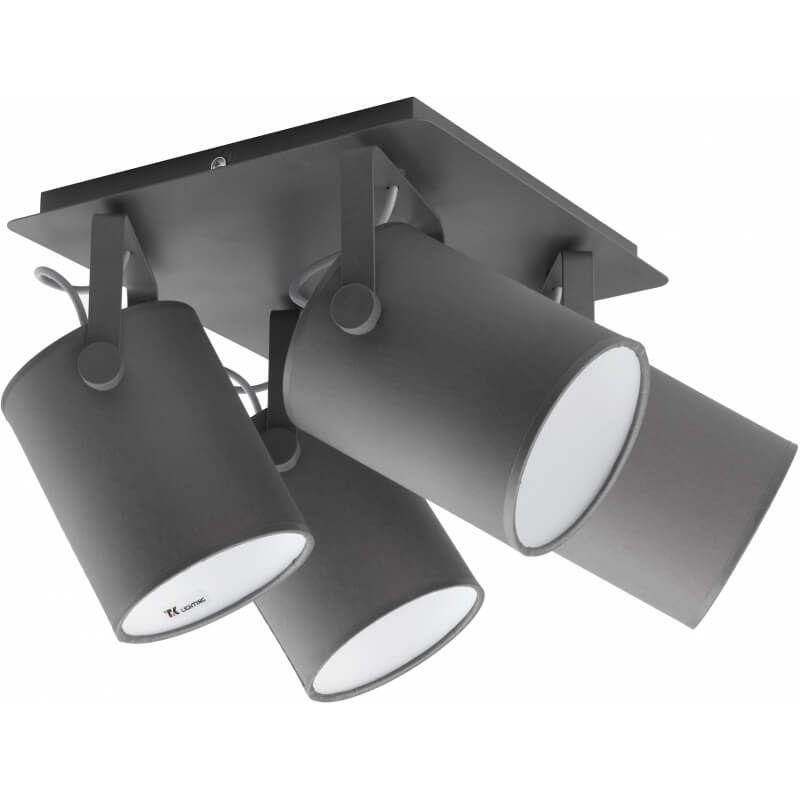 Tk Lighting Lampa Sufitowa Relax Gray Ii Ceiling Spotlights Ceiling Lights Led Ceiling Spotlights