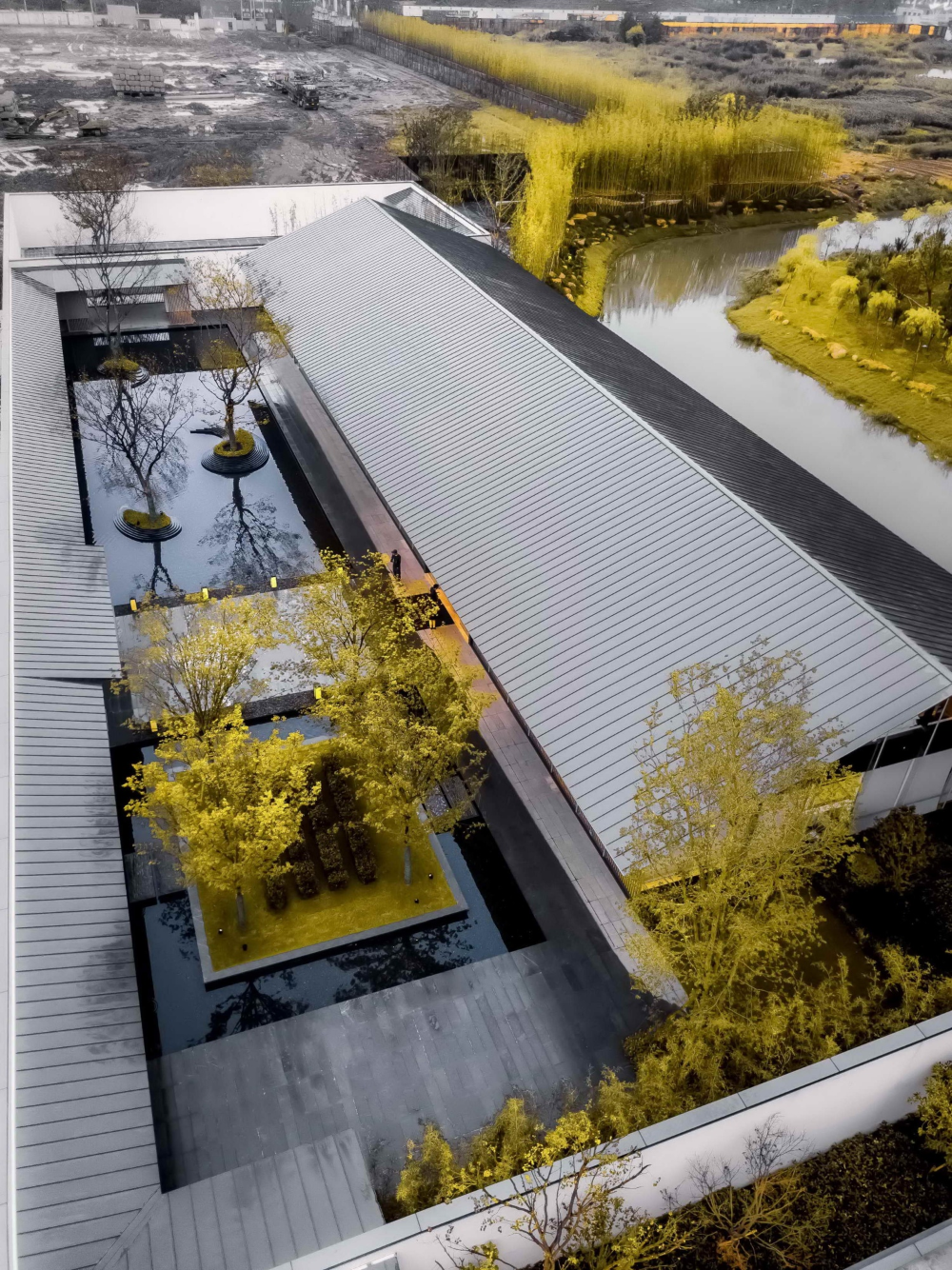 隐一世山水 享半生闲情 万科桂语东方 安道设计 installation art landscape resort
