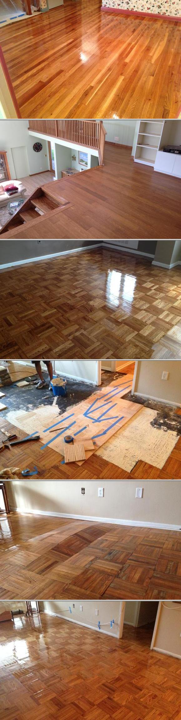 This company specializes in floor refinishing and