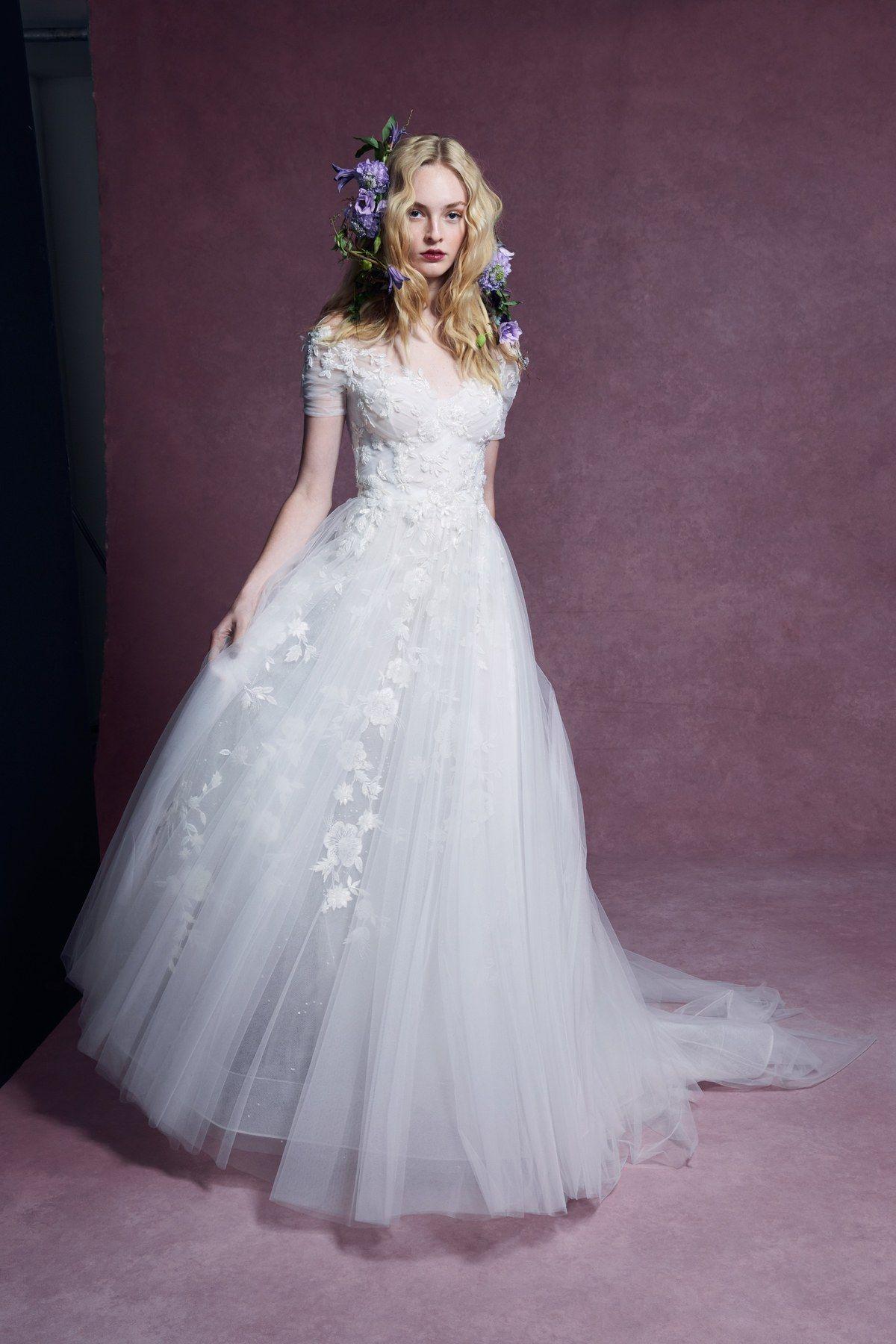 Marchesa Bridal Fall 2020 Fashion Show in 2020 Marchesa