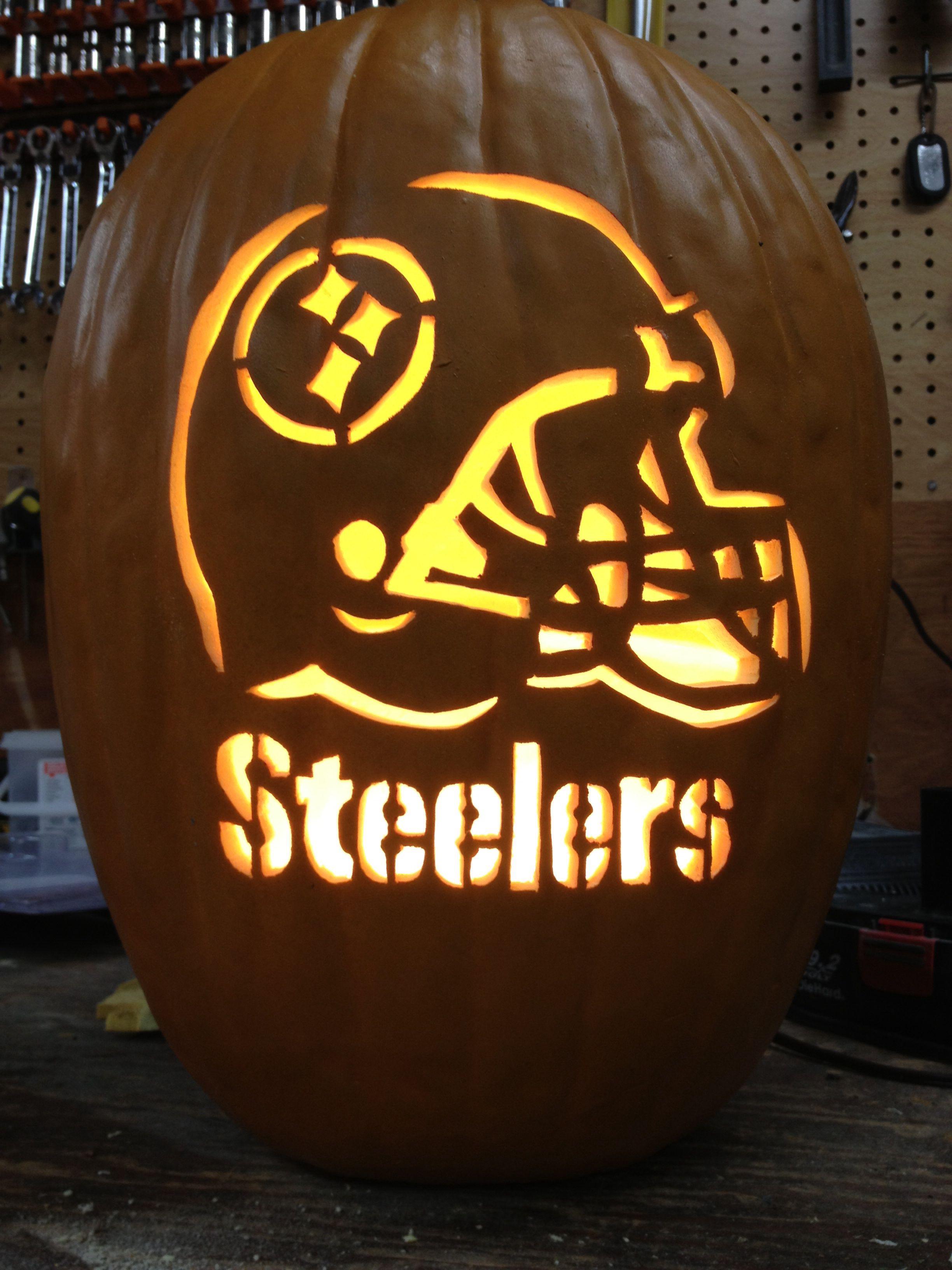 pittsburgh steelers~pumpkin | ℬℒÅℂk & yℰℒℒÕw~รteelerร ℕatioℕ