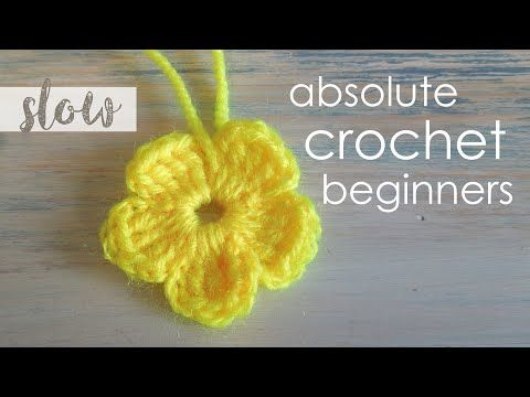 [Video Tutorial] Absolute Beginner: Learn Something New And Enjoy Crocheting A Flower - Page 2 of 2 - Knit And Crochet Daily