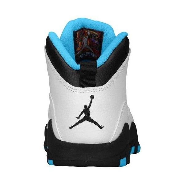 8d3a713a7512f6 Jordan Retro 10 Boys  Preschool ❤ liked on Polyvore featuring jordans and  shoes