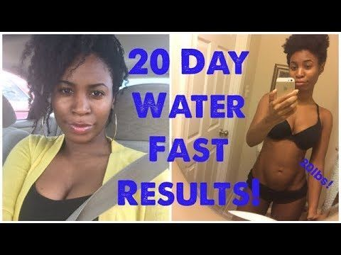 51 What A 20 Day Water Fast Did To My Body You