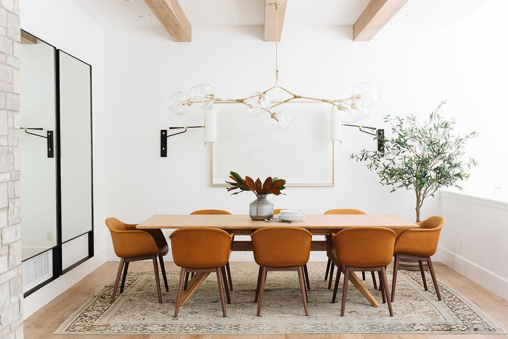 Styling Dining Spaces For The Everyday Studio Mcgee Pretty Room Decor Kitchen Color Trends