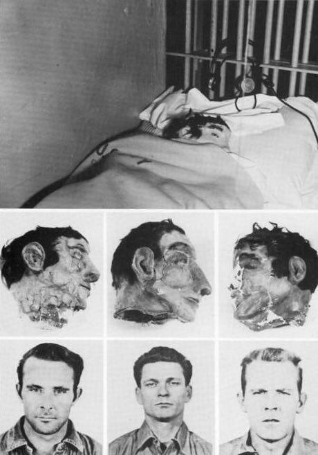 The Fake Heads Used In The Great Alcatraz Escape Of 1962