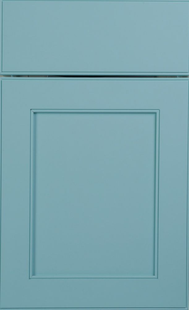 Larchmont Recessed door style by #WoodMode, shown in Designer ...