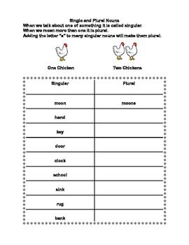 Forming Plural Nouns A series of worksheets for Grades 2-3 ...