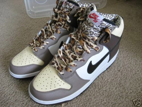 #swag #nike #cheetah #hitopdunks