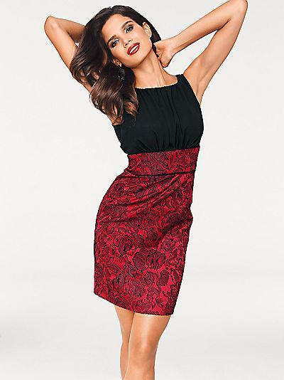 ASHLEY BROOKE by Heine Cocktailkleid Jacquard | Ashley brooke and Formal