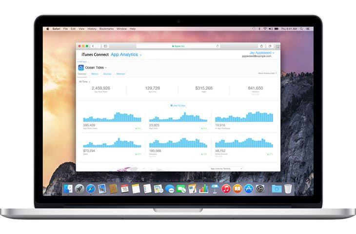 Apple launches iTunes Connect App Analytics beta App