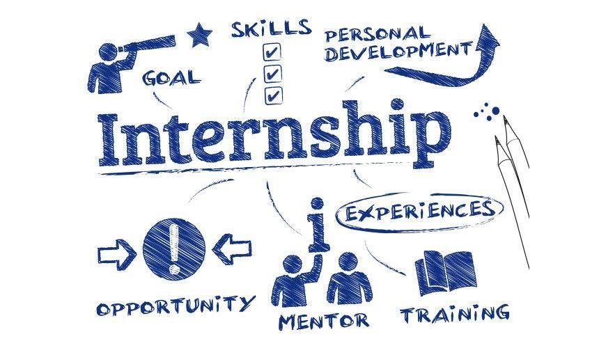 Image result for illustration of a student internship