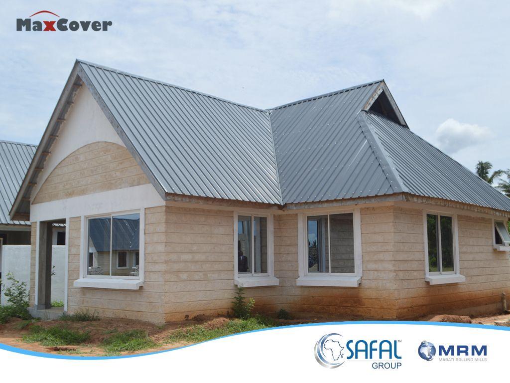 Maxcover Flat Metal Roof Roof Design Modern Roof Design