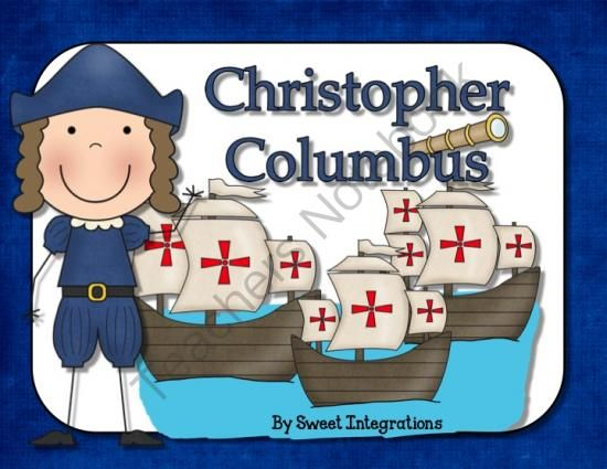 Christopher Columbus Informational Text: PowerPoint and Activities from Sweet Integrations on TeachersNotebook.com -  (43 pages)  - Christopher Columbus Informational Text: PowerPoint and Activities; $