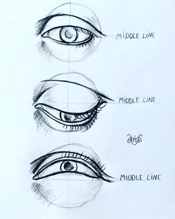 Aprenda a Desenhar olho realista ! Veja este novo