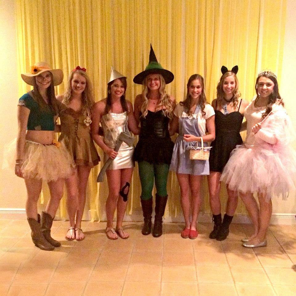 Women Group Costumes Wizard of Oz Girls Gro...