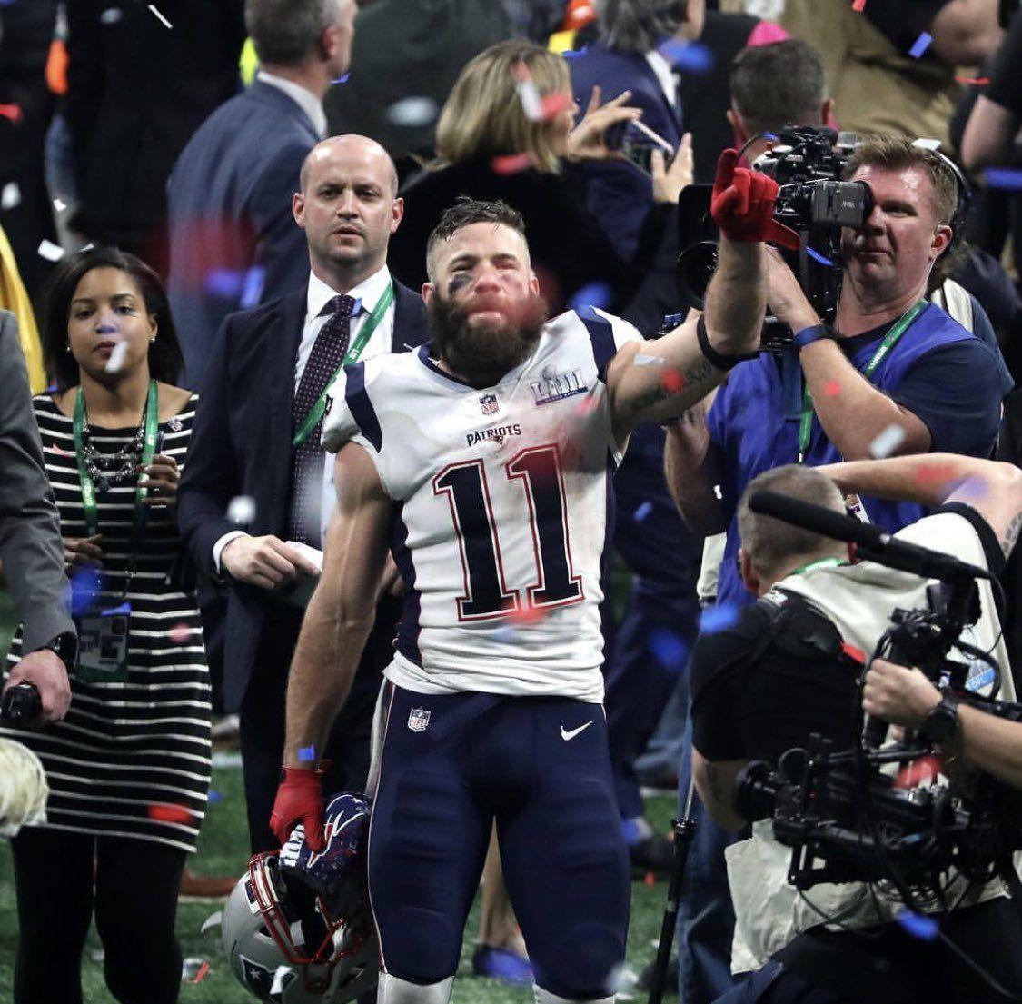 Julian Edelman Super Bowl Liii Mvp Julian Edelman Patriots Julian Edelman New England Patriots