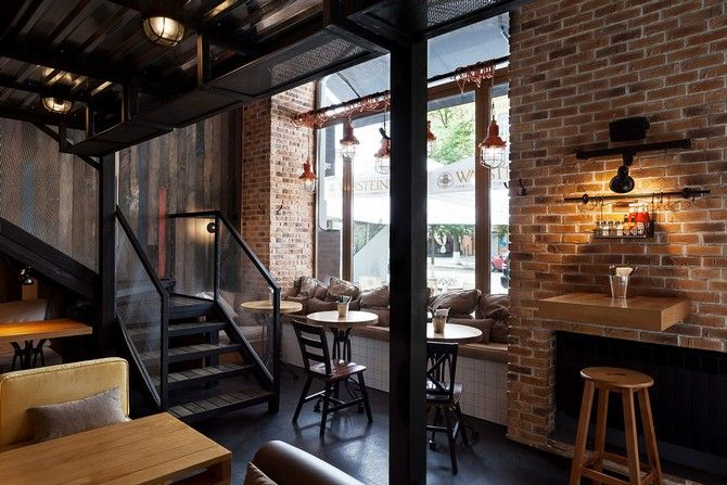 The Perfect Wall Lighting For Bars Vintage Industrial Style Lounge Design Cafe Design Restaurant Design
