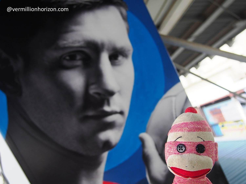 Messi's got his eye on Lil' Squirt (Bangkok, Thailand)