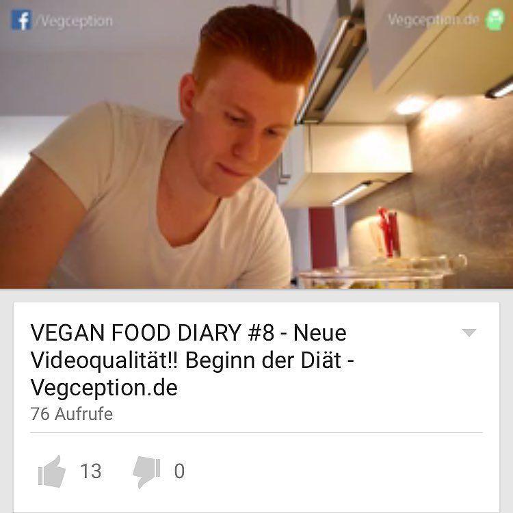NEUES VIDEO online  Ein neues Food Diary für Euch. Gebt mir bitte unbedingt Feedback zur neuen Kamera etc  Danke Schonmal  Link ist in der Beschreibung  . . Besuch mich auf: http://ift.tt/Q3PGqs  Snapchat: Vegception  http://ift.tt/1qr9dQO  für mehr Motivation und Tipps!  #veganfitness #veganbodybuilding #veganprotein #bodybuilding #naturalbodybuilding #vegan #veganism #diet #nutrition #highcarb #cleanfood #motivation #vegansofig #govegan #vegception #wir2punkt0 #fitspo #veganfood…