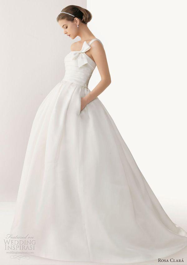 Rosa Clará 2013 Wedding Dresses | Pinterest | Wedding dress pockets ...