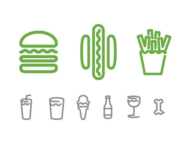 Shake Shack Logo shake shack identitypentagram | graphic design | pinterest