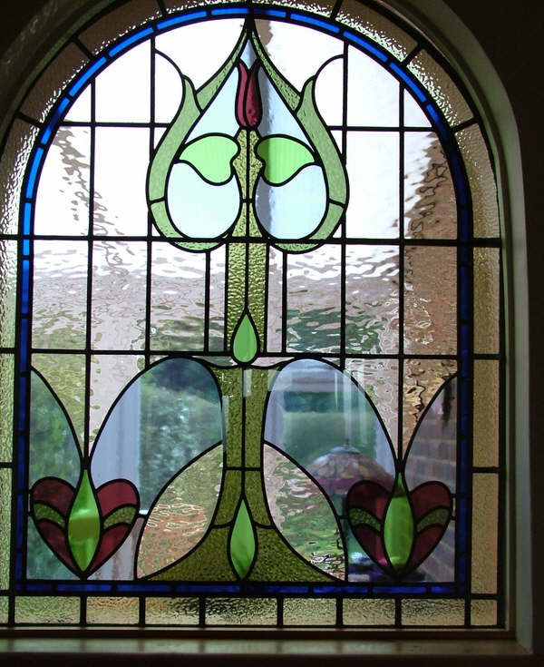 Leaded glass windows are amazing!