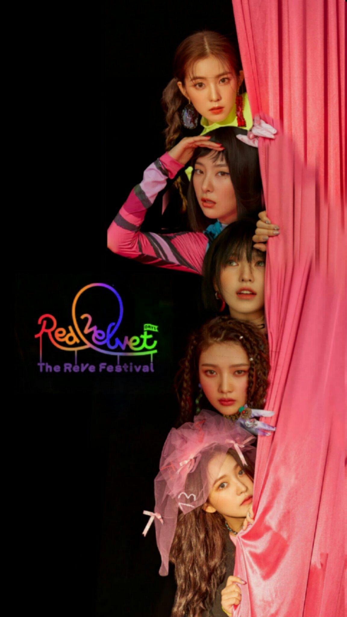Red Velvet Seulgi Irene Wendy Yeri Joy Wallpaper Lockscreen Hd Fondo De Pantalla Iphone Power Up Dekorasi