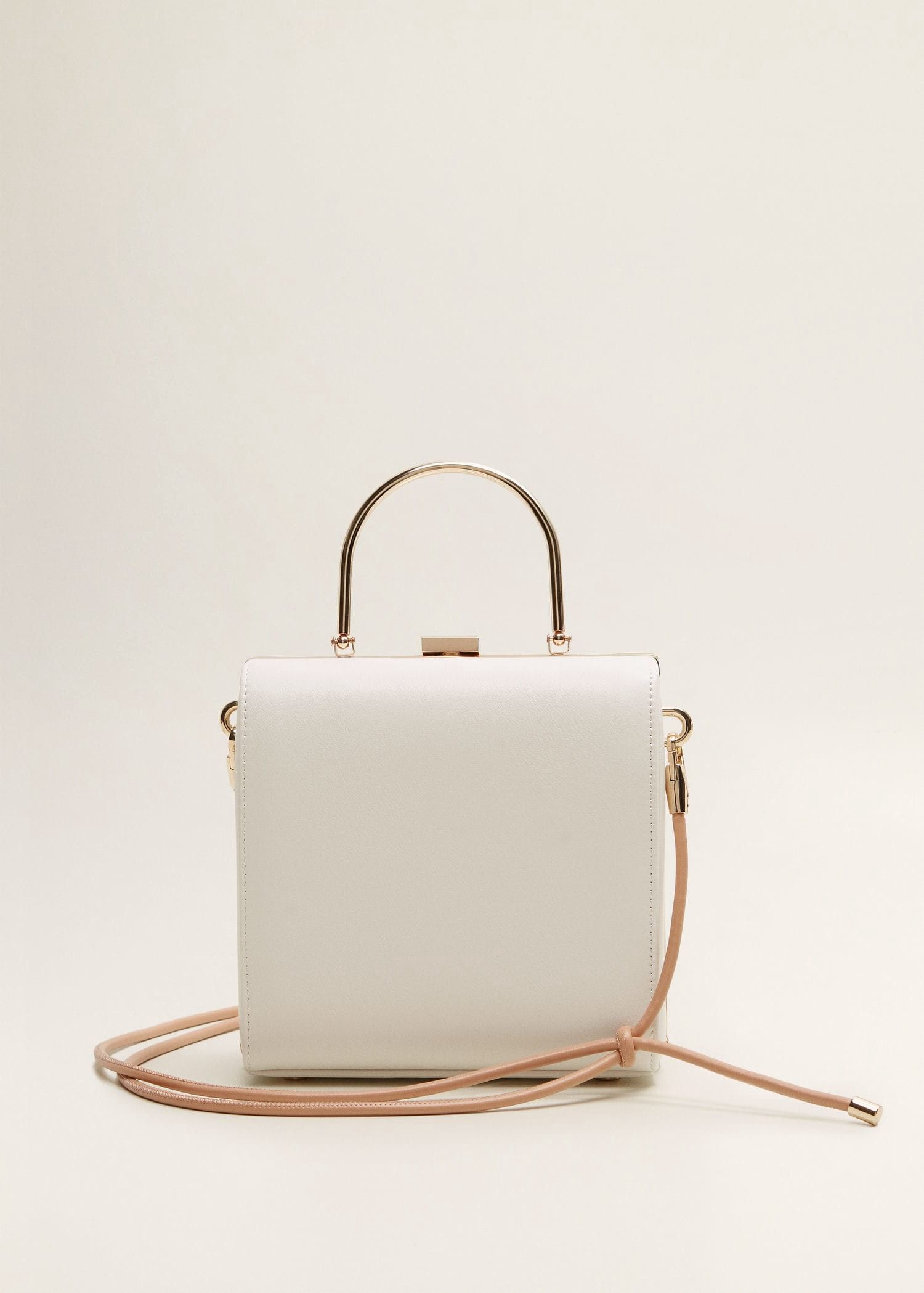 e69f4e196b Mango Metallic Details Bag - White One Size | Products in 2019 ...