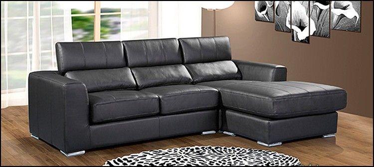 Small Leather Corner Sofa