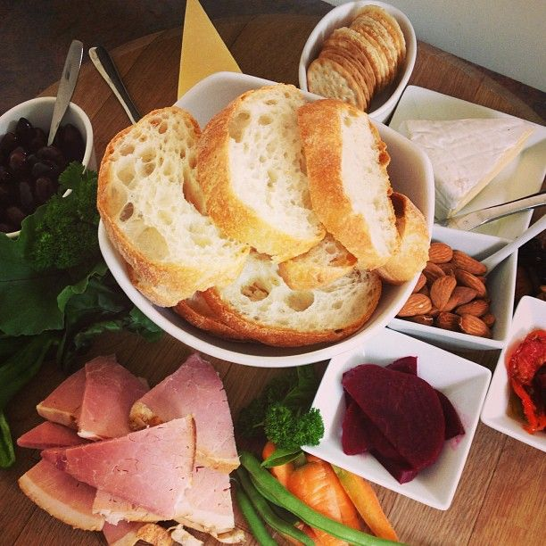 Sneak peek of the lunch platter for our Monday Tours. #yum