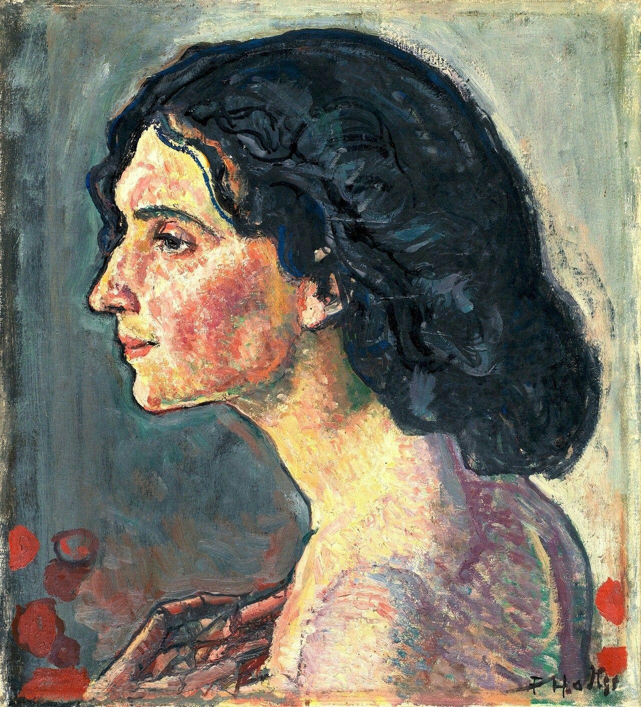 Ferdinand Hodler-Giulia Leonardi-1910