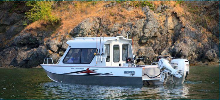 New 2012 Hewescraft 200 Sea Runner Multi-Species Fishing