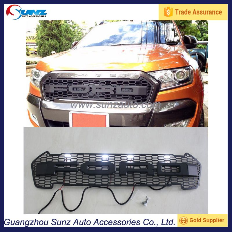 Source Exterior Accessories Front Grille Fit For Ford Ranger