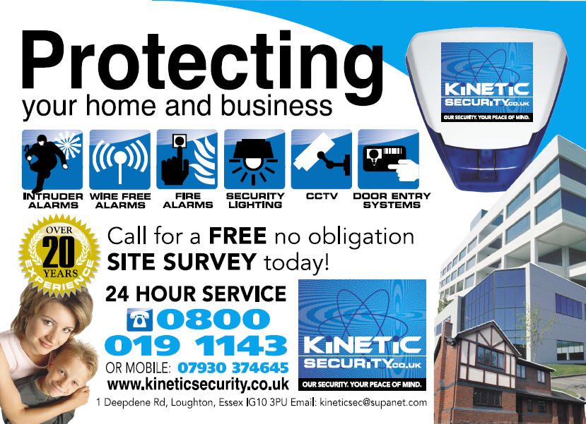 Flyer. Promotional flyer for a CCTV Security company based in ...