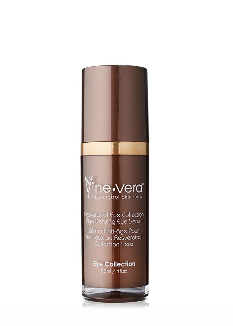 Resveratrol Eye Collection Age Defying Eye Serum Vine Vera Castor Oil Wrinkles Eye Serum Nighttime Skincare