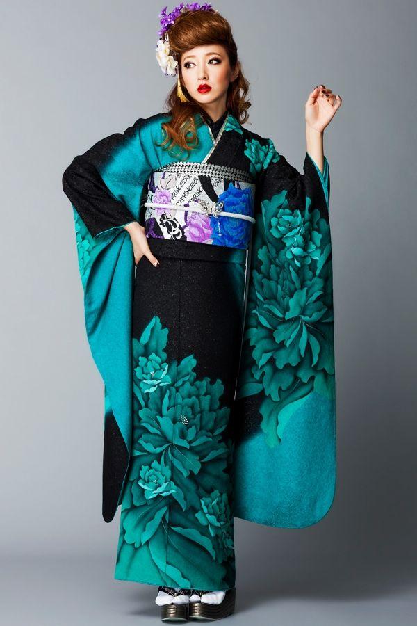 kimono nihon pinterest asiatische kleidung. Black Bedroom Furniture Sets. Home Design Ideas