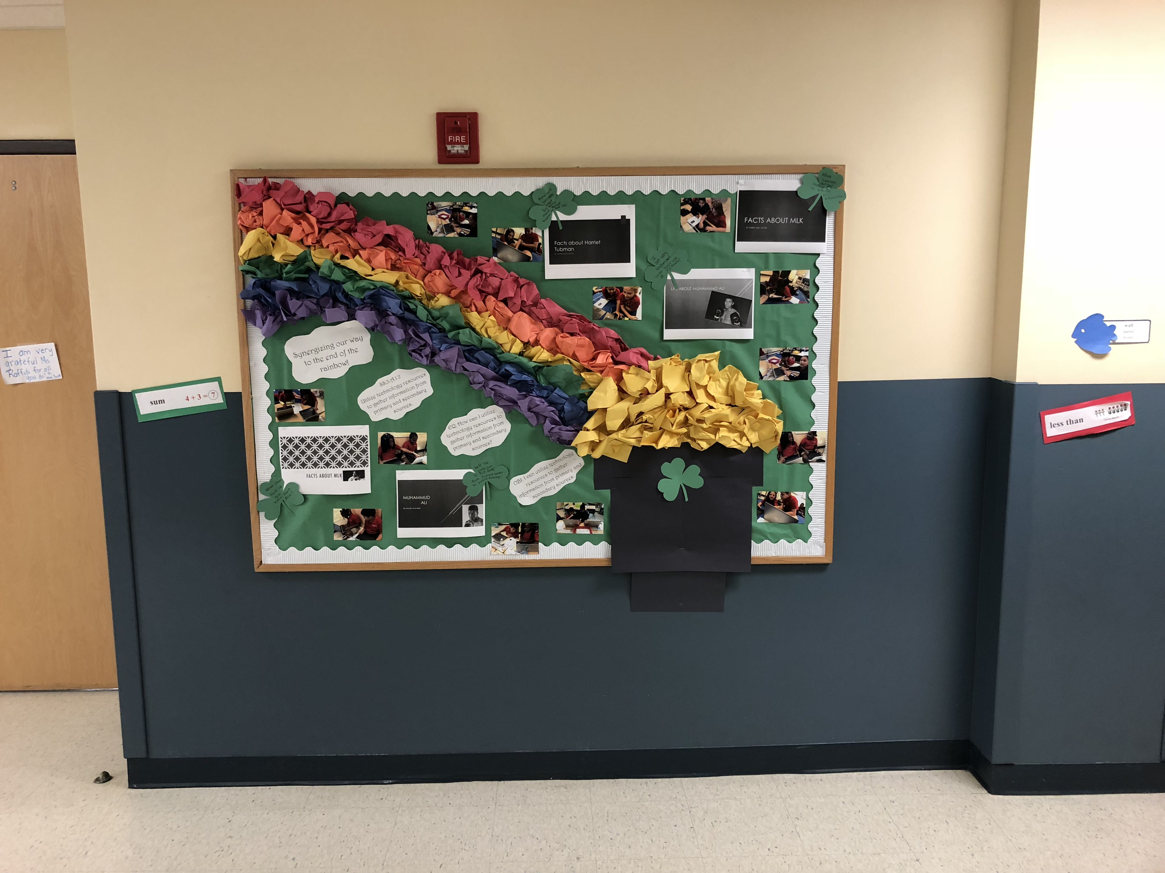 Leader In Me Habit 6 Synergy Bulletin Board Working